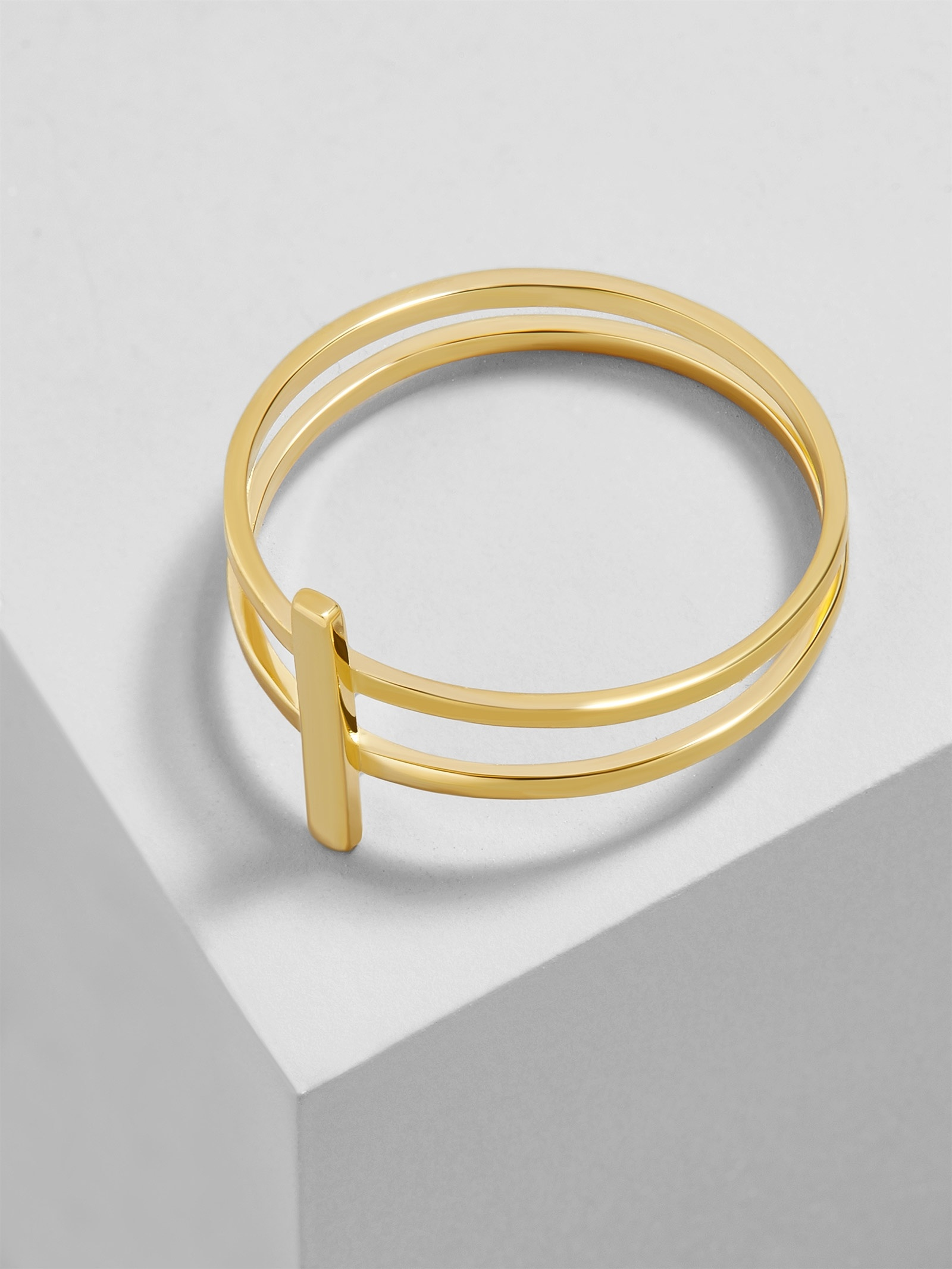 Punto 18 K Gold Plated Ring by Baublebar