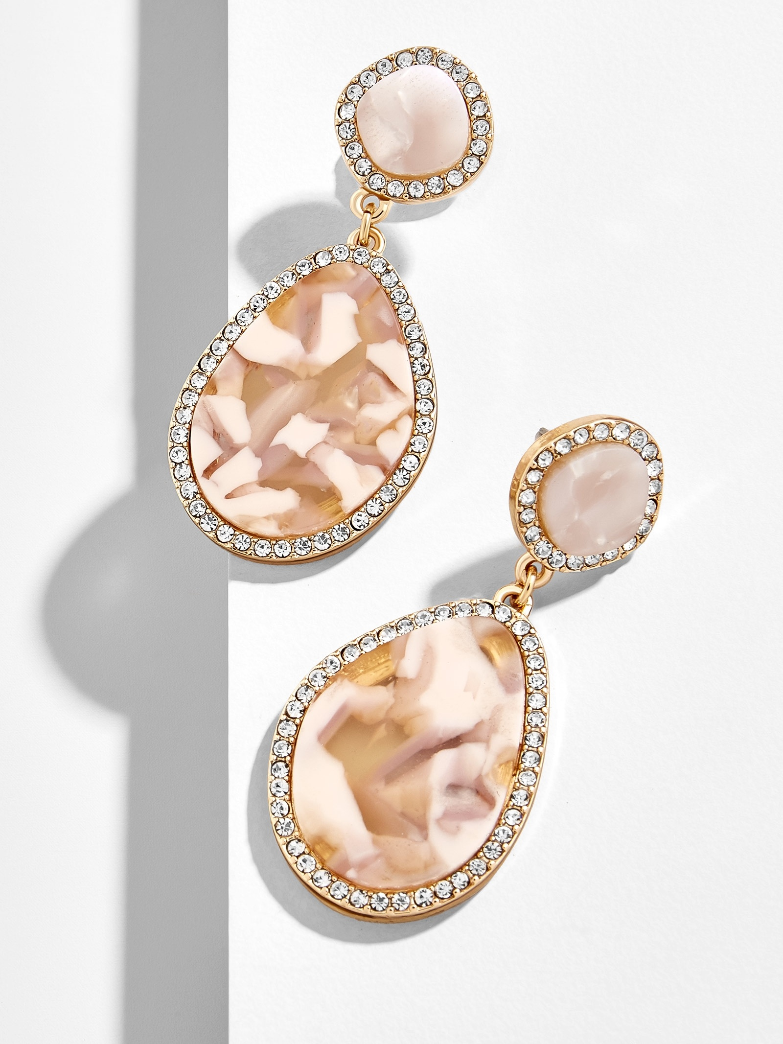 Edelle Resin Drop Earrings by Baublebar