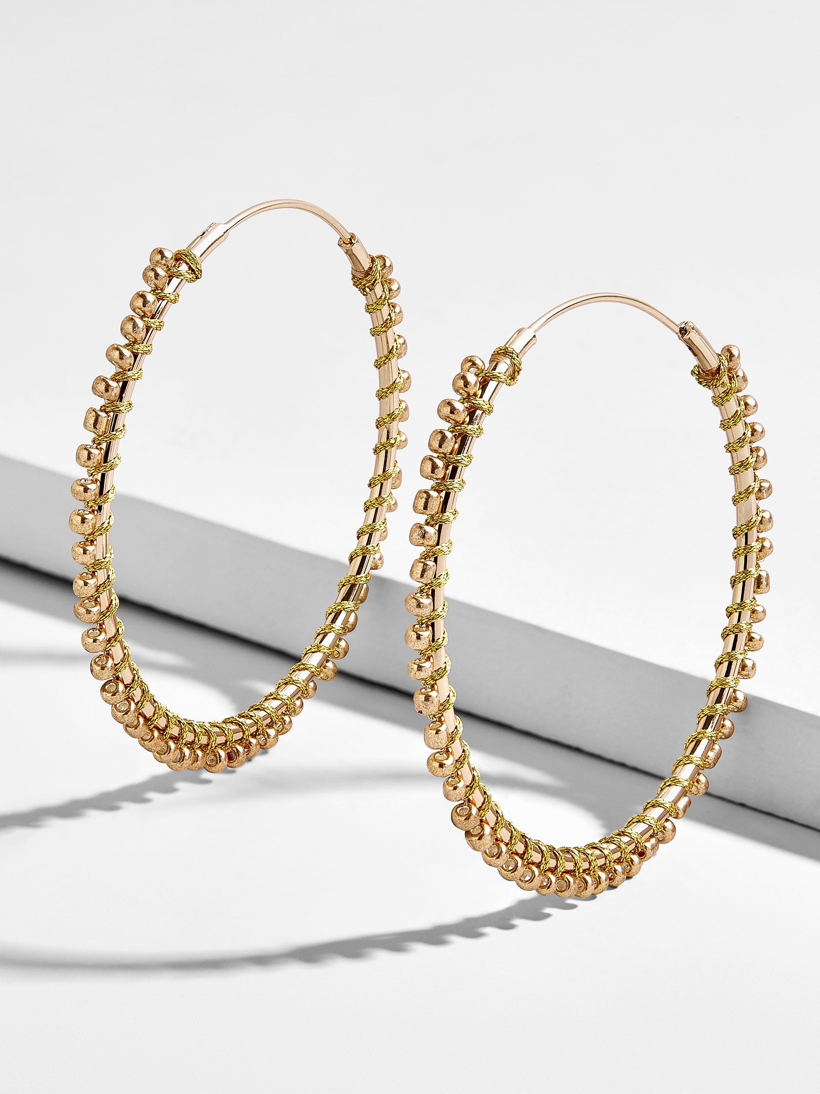 Priscille Hoop Earrings by Baublebar