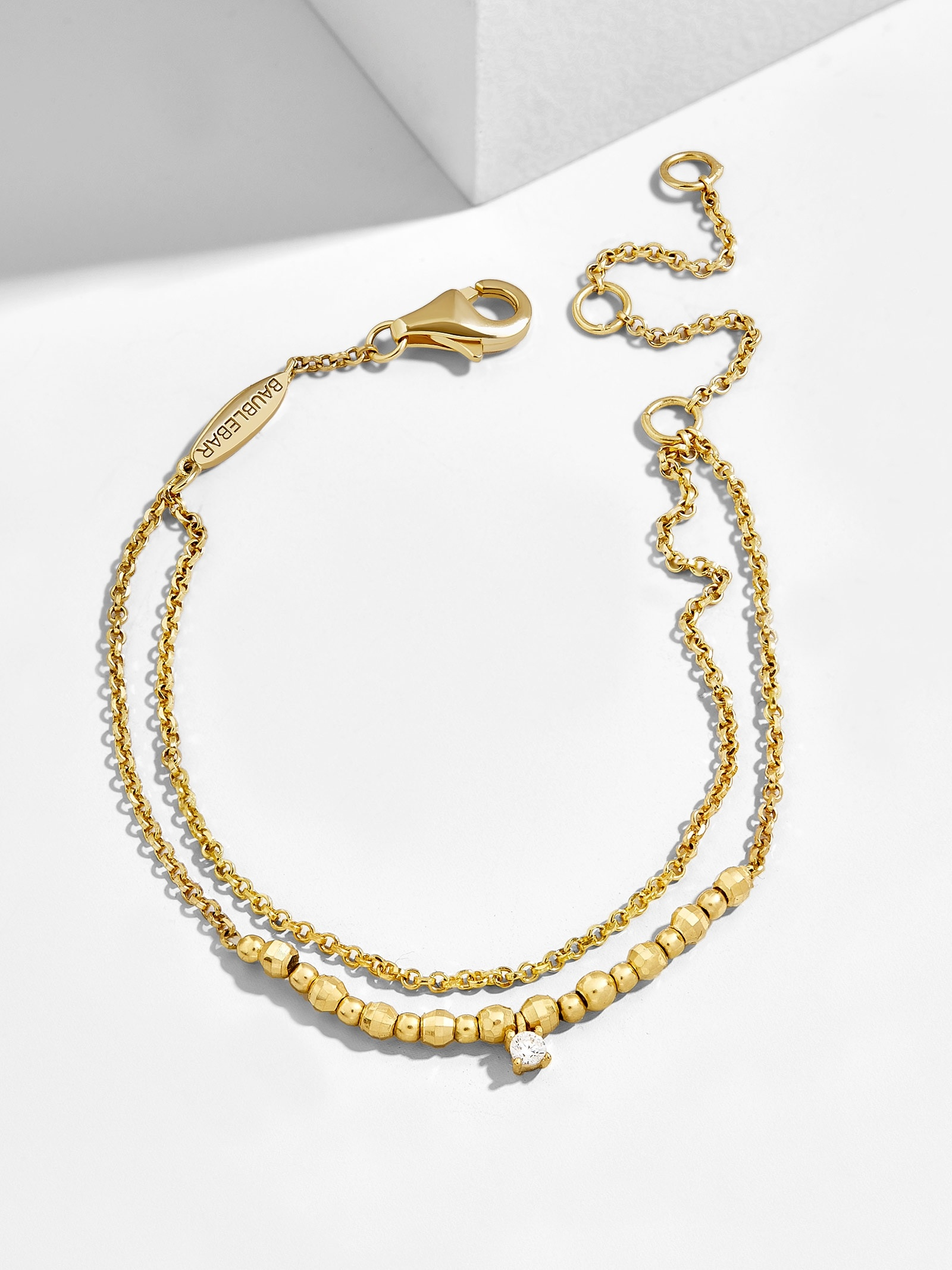 Pepita 18 K Gold Plated Bracelet by Baublebar