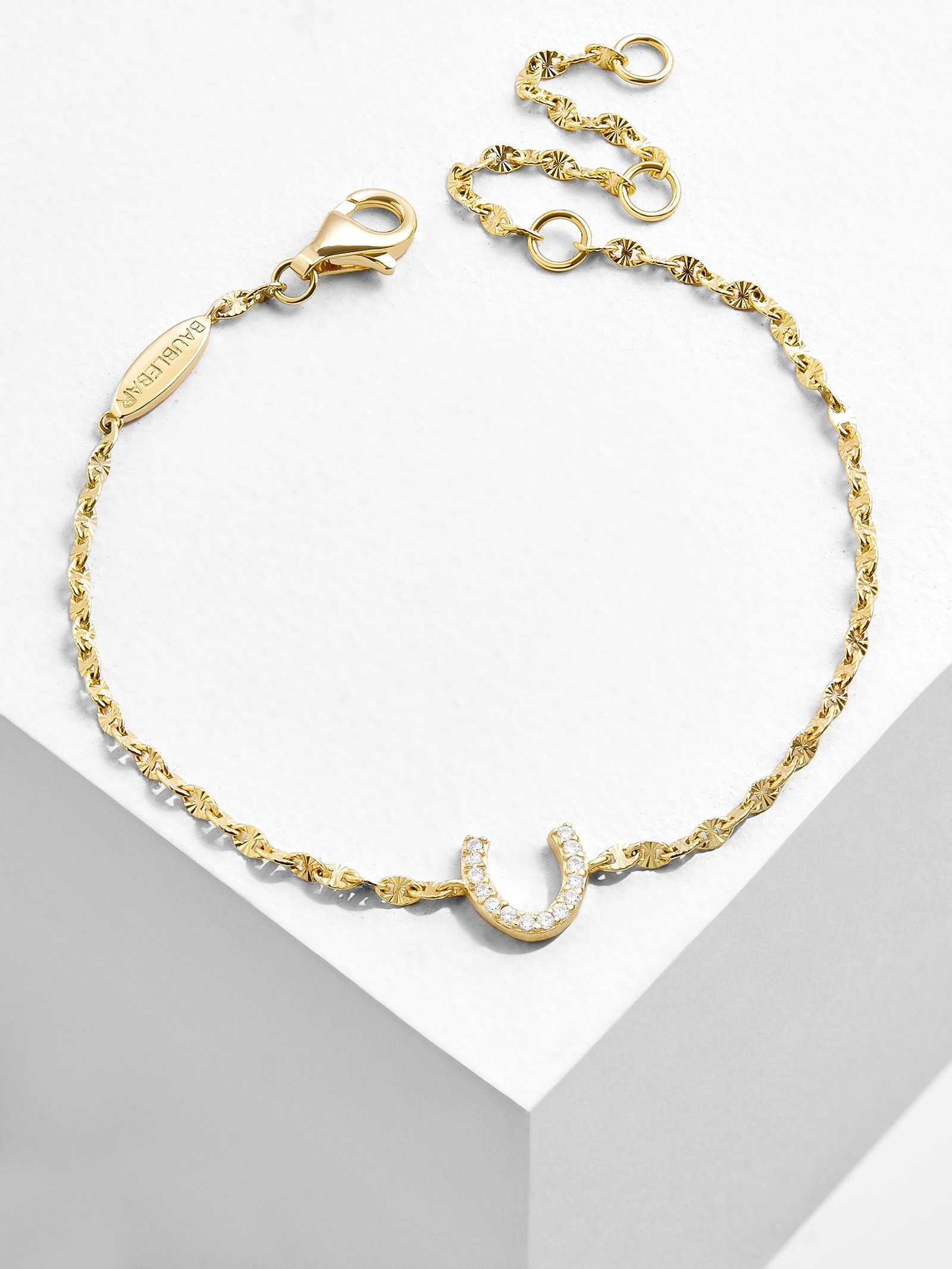 Fortuna 18 K Gold Plated Bracelet by Baublebar