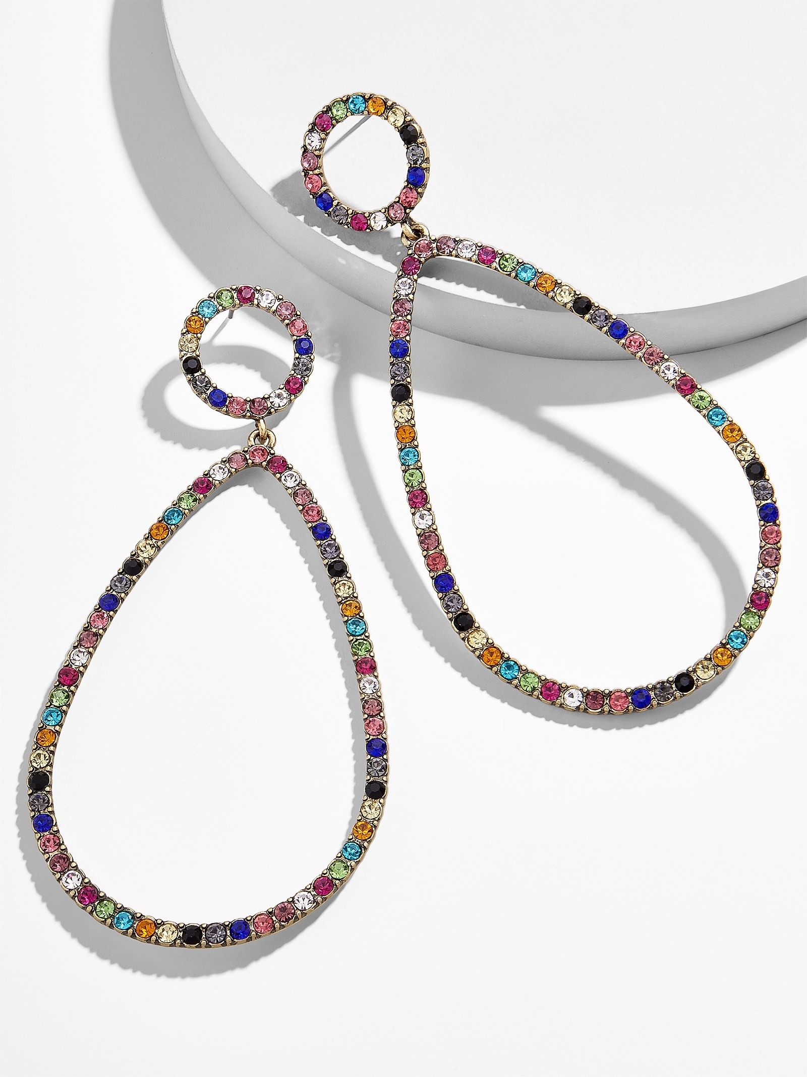 Genevieve Hoop Earrings by Baublebar