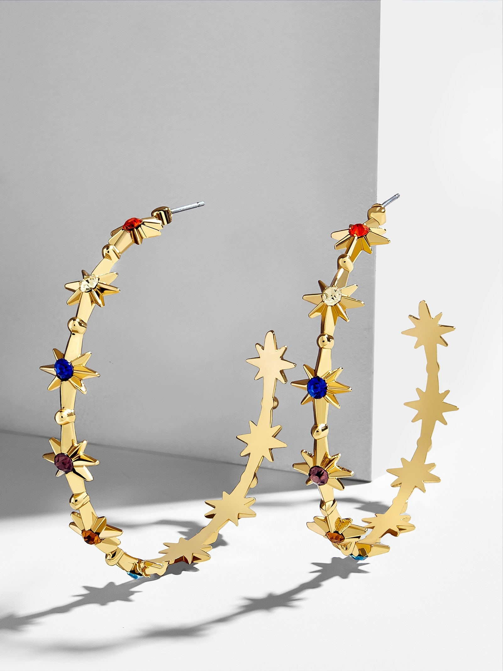Michele Hoop Earrings by Baublebar