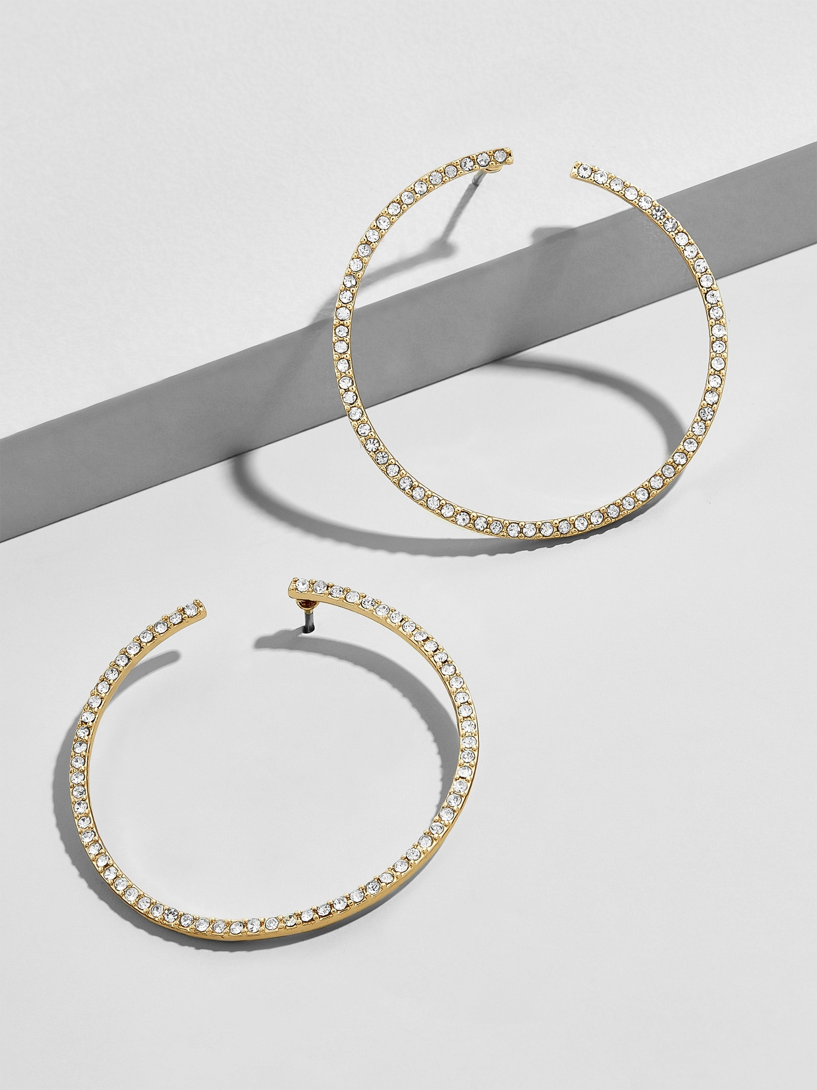 Olivia Hoop Earrings by Baublebar