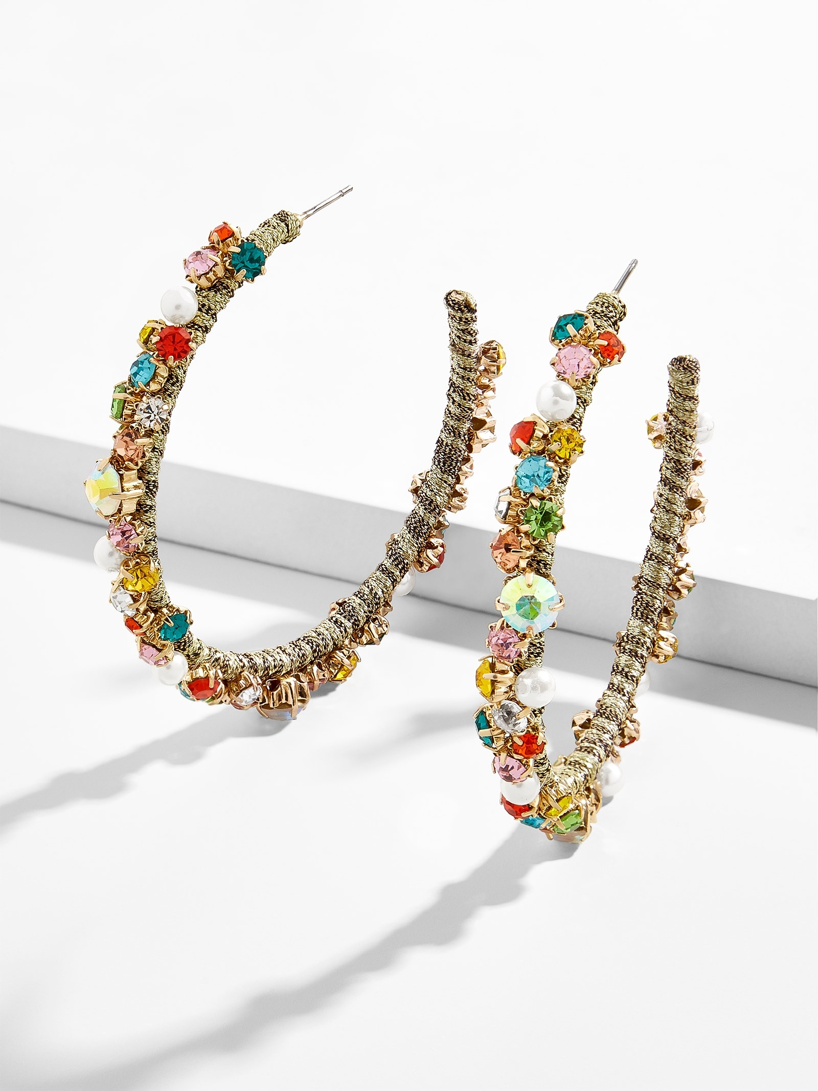 Avie Elysian Hoop Earrings by Baublebar