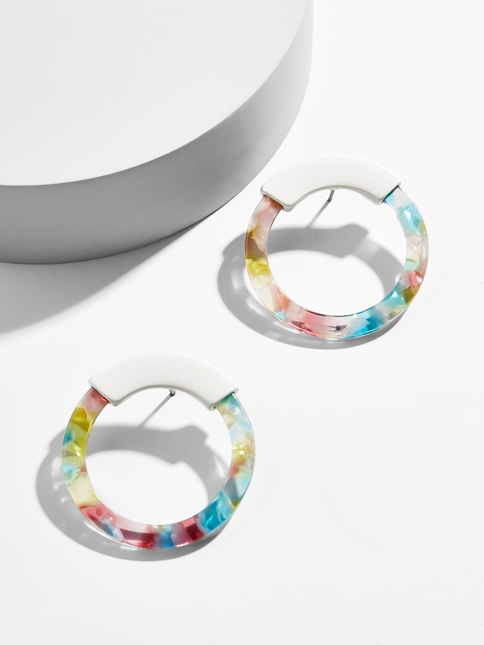 Deann Resin Hoop Earrings by Baublebar