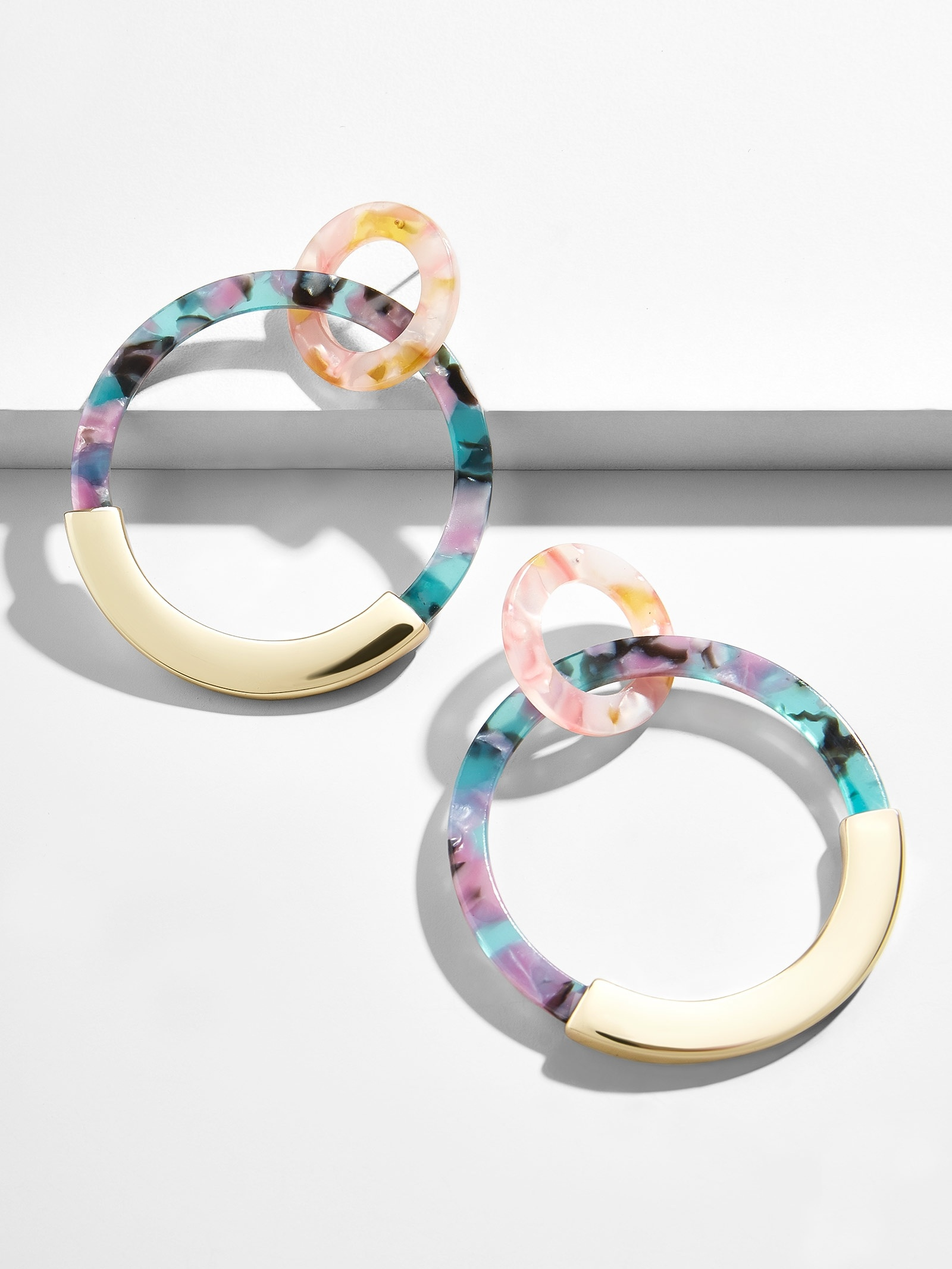 Daniya Resin Hoop Earrings by Baublebar