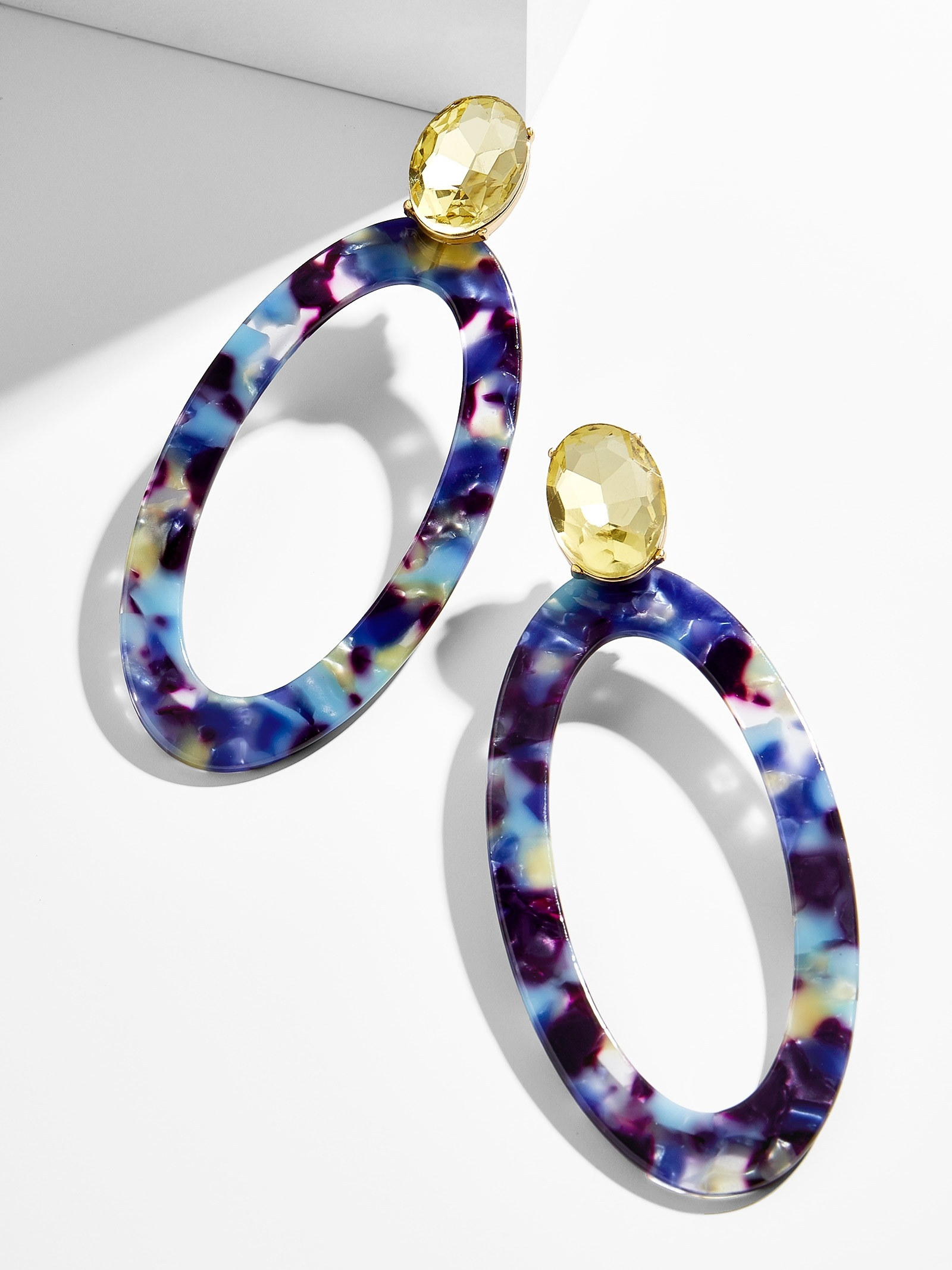 Taliana Resin Hoop Earrings by Baublebar