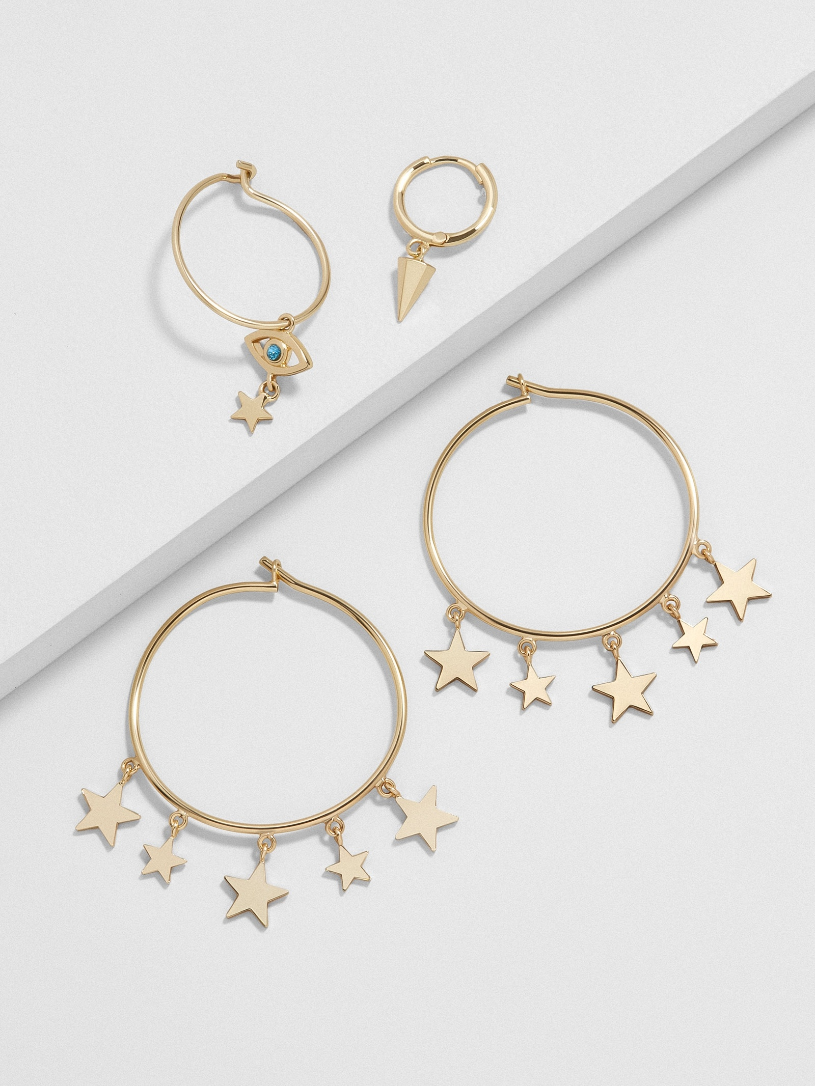 Athena Hoop Earring Set by Baublebar