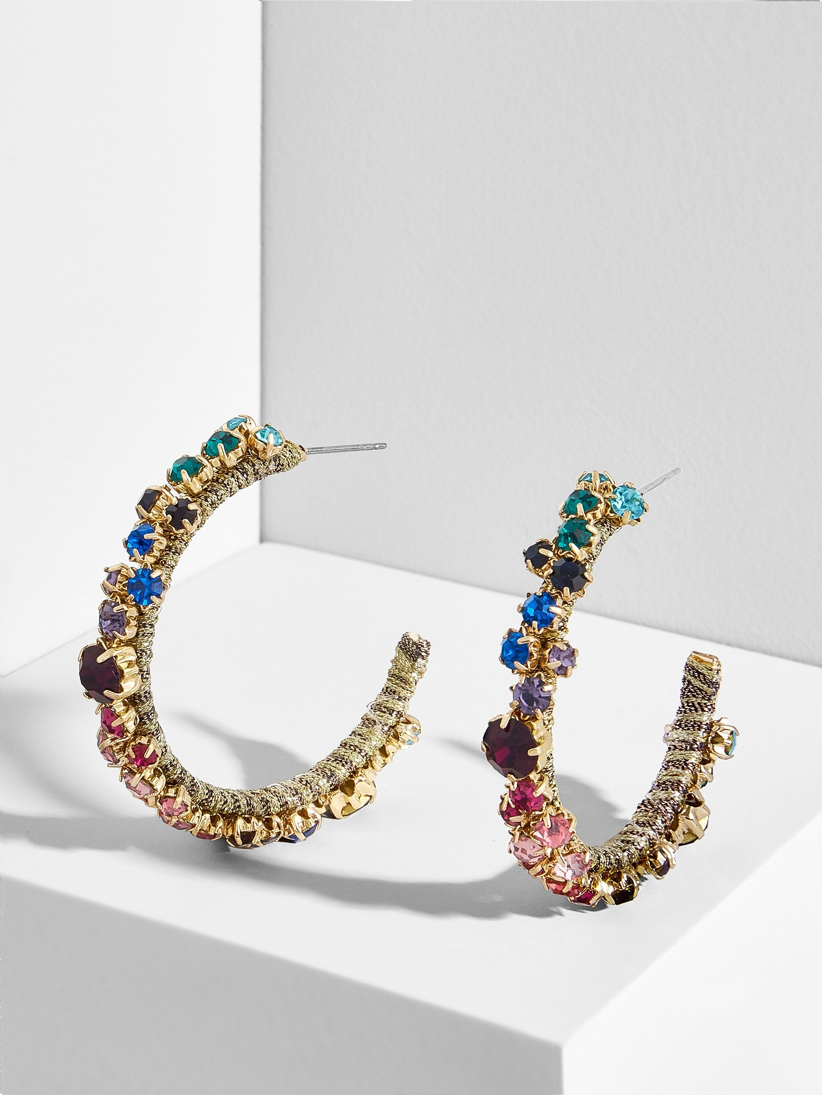 After The After Party Hoop Earrings by Baublebar