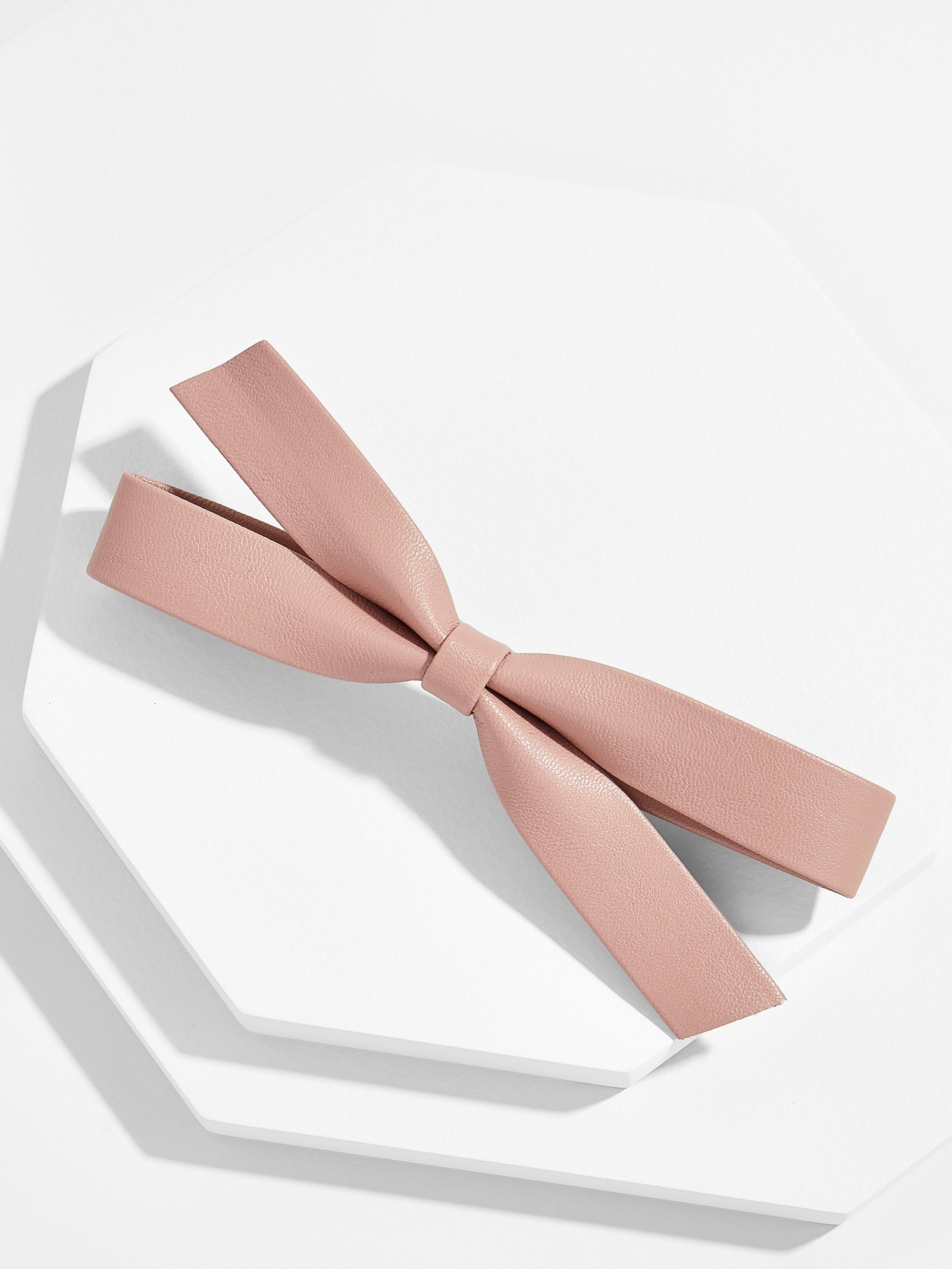 Sateana Hair Bow Blush by Baublebar