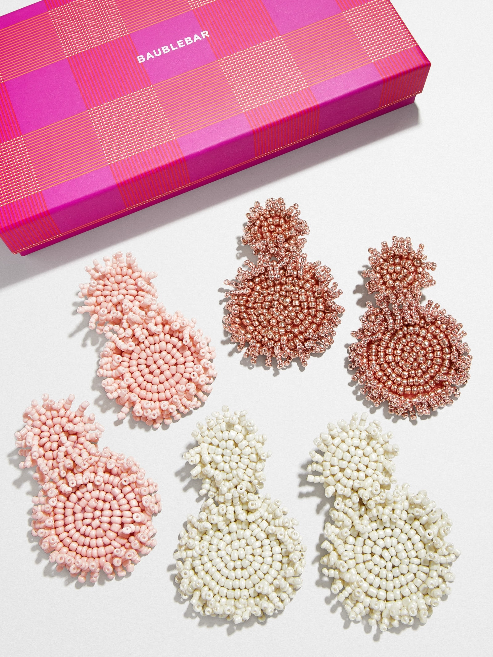 Color Punch Mini Rianne Earring Set by Baublebar
