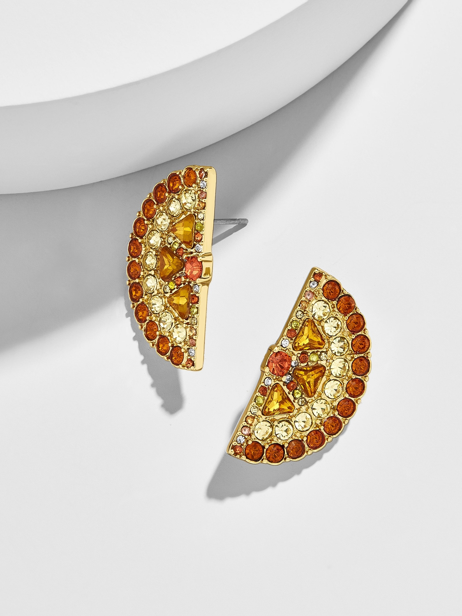 Orange Slice Stud Earrings by Baublebar