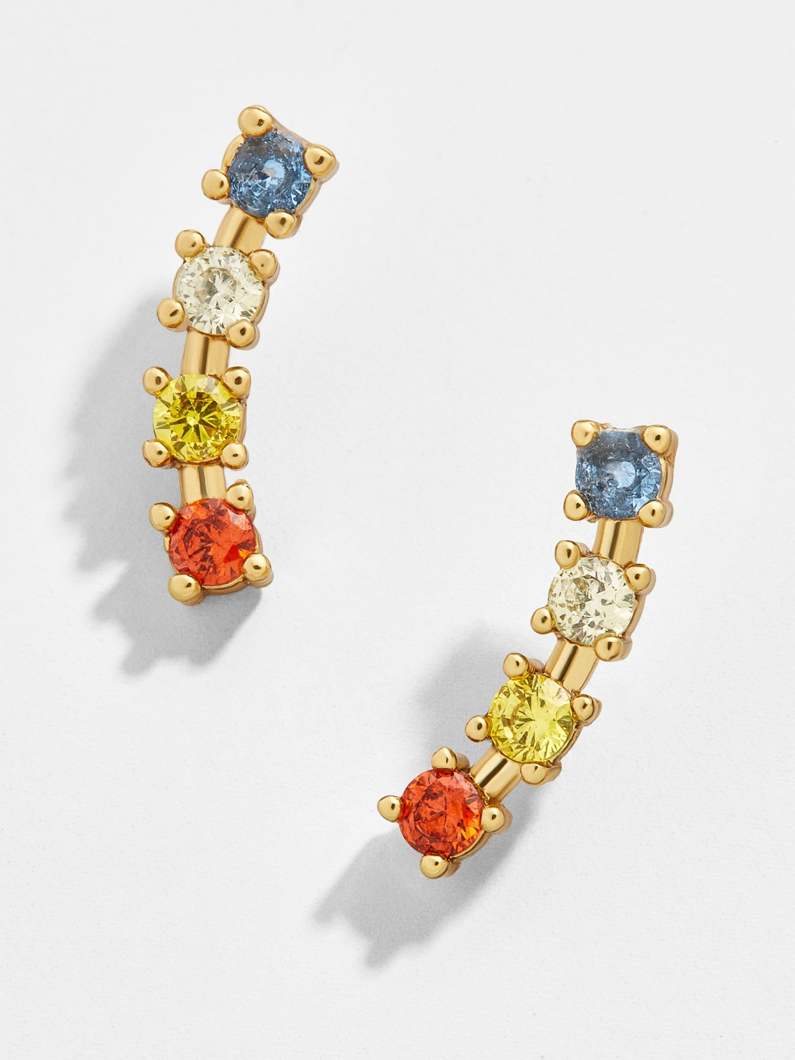 Fantine Cubic Zirconia Ear Crawlers by Baublebar
