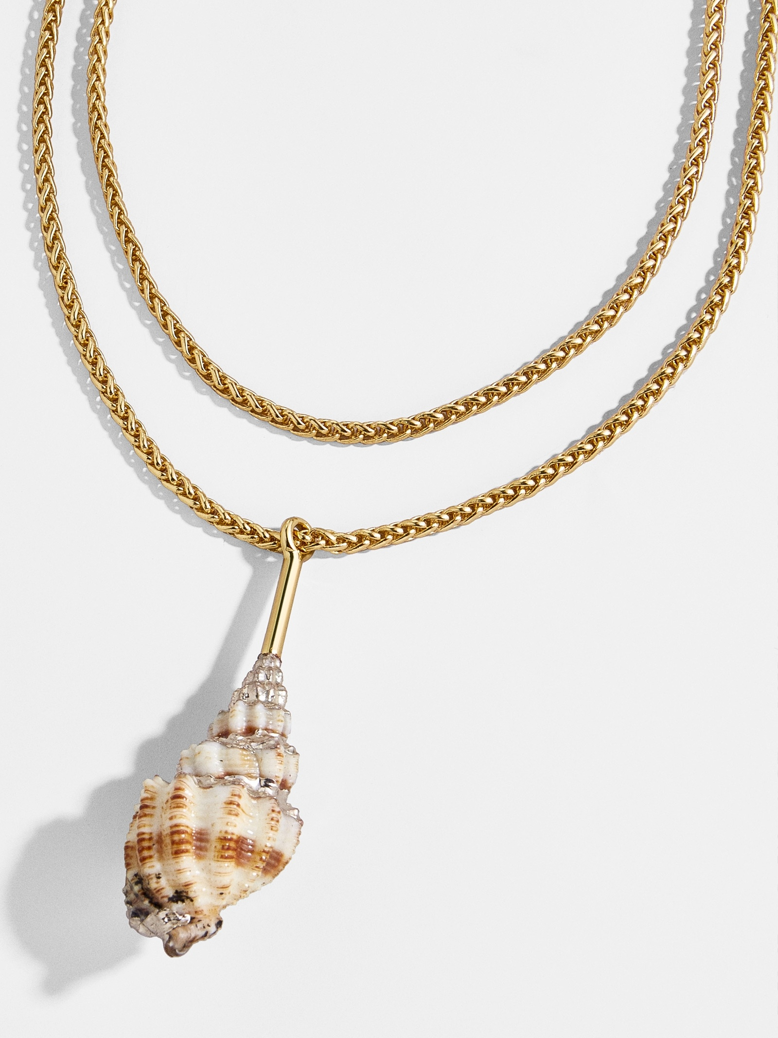 Anthia Layered Pendant Necklace by Baublebar
