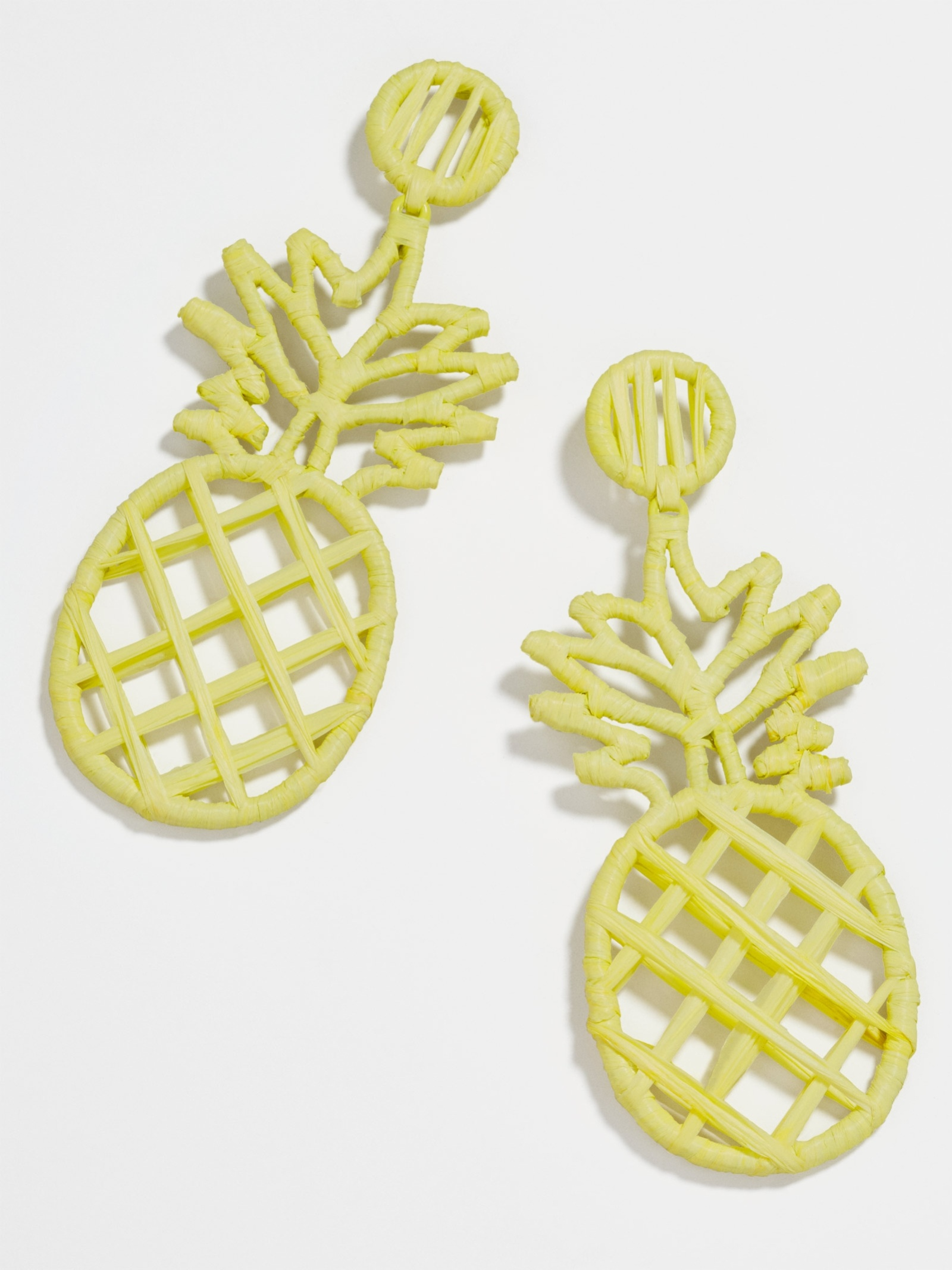 Bermuda Raffia Drop Earrings by Baublebar
