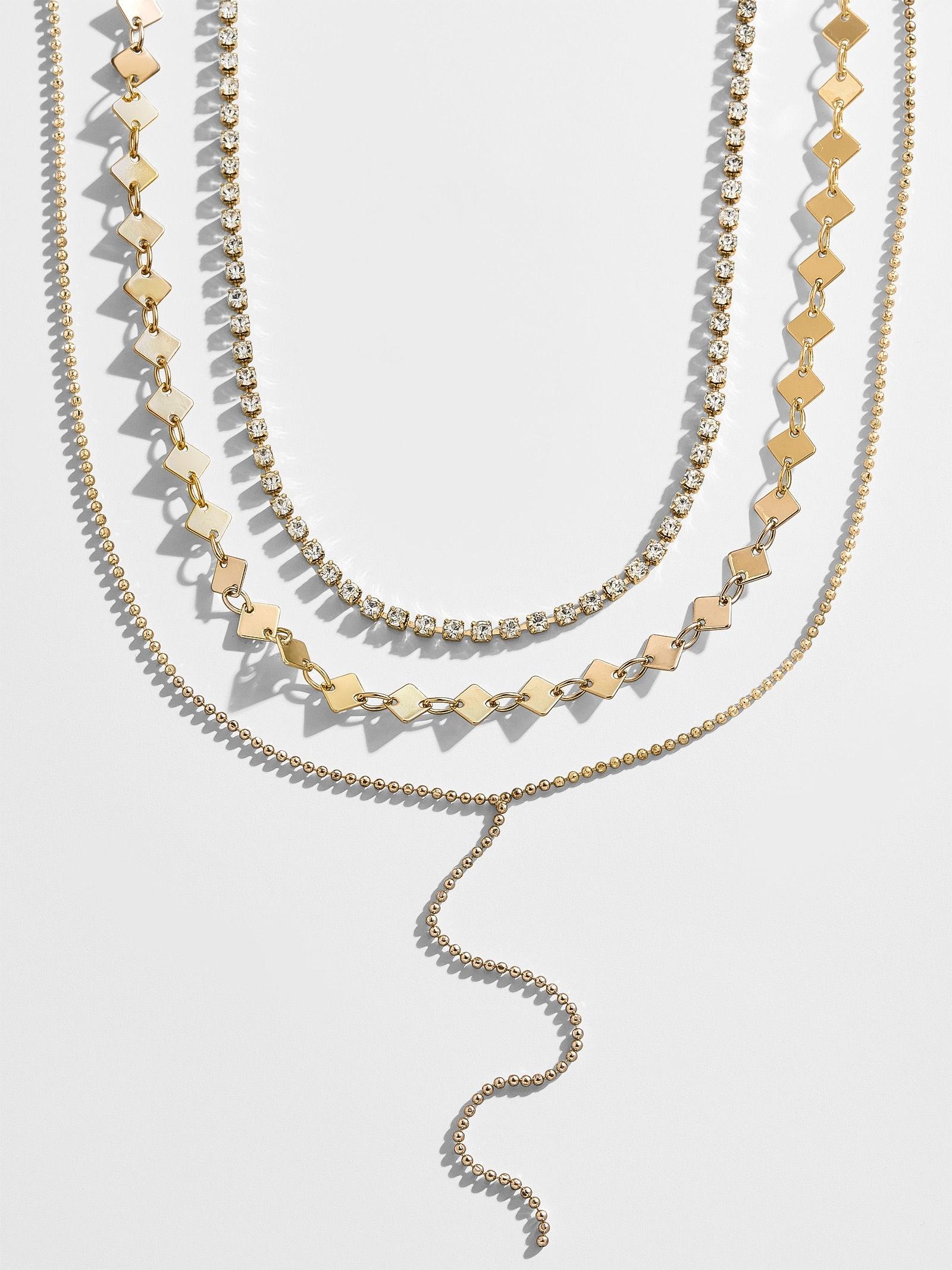 Diancia Layered Y Chain Necklace Set by Baublebar