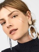 Thumbnail #1 for Triana Resin Hoop Earrings