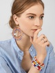 Thumbnail #1 for Mazarine Hoop Earrings
