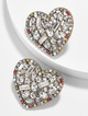 Thumbnail #2 for Aubry Heart Stud Earrings
