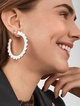 Thumbnail #2 for Liza 18K Gold Plated Huggie Hoop Earring Set