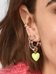 Thumbnail #1 for Neve Lucite Huggie Hoop Earrings