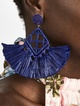 Thumbnail #1 for Sahari Raffia Drop Earrings