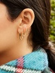 Thumbnail #1 for Niata 18K Gold Vermeil Huggie Hoops